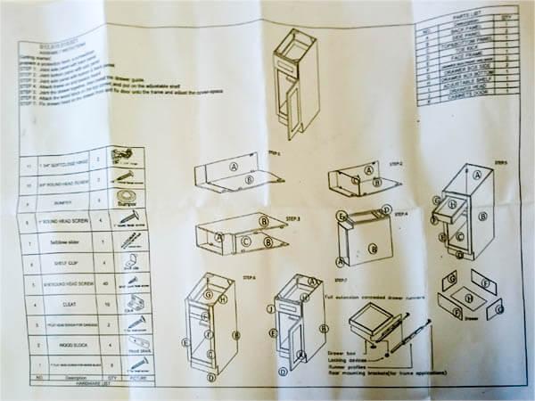 Arctic-White-Shaker-Assembly-instruction