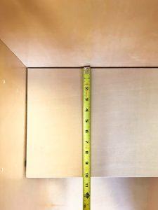 Arctic White Shaker Shelf