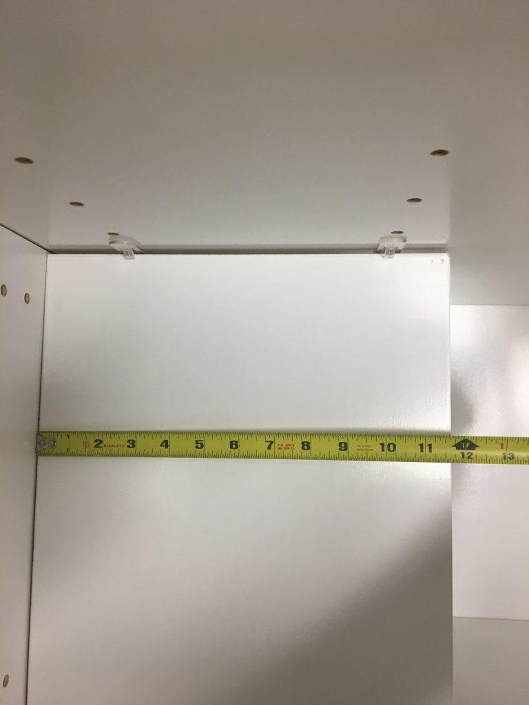 Picture 16: Floating Half Shelf Length